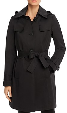 Via Spiga Shield Belted Trench Coat