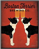 Art.com ''Boston Terrier Brewing Co.'' Wall Art