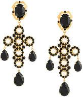 Dolce & Gabbana cross clip-on earrings