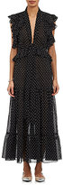 Robert Rodriguez Women's Voile Ruffle-Trimmed Dress