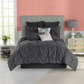 Bed Bath & Beyond AnthologyTM Whisper Twin Comforter Set in Pewter