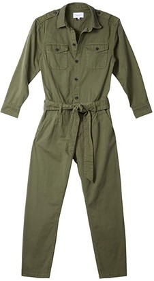 Current/Elliott The Mele Coverall (Agave) Women's Jumpsuit & Rompers One Piece