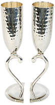 Culinary Concepts Hammered Heart Lovers Cups, Set of 2