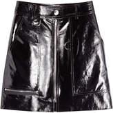 Isabel Marant Patent Leather Mini Skirt