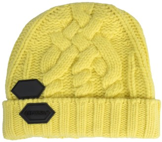 Off-White Knitted Hat