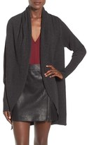 Leith Women's Shawl Collar Cocoon Cardigan