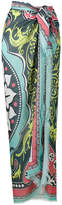 Mary Katrantzou large Gaia print sarong scarf