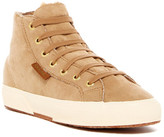 Superga Faux Shearling Lined High Top Sneaker
