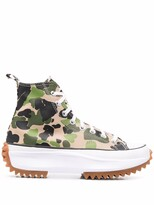 Thumbnail for your product : Converse Run Star Hike camouflage-print sneakers