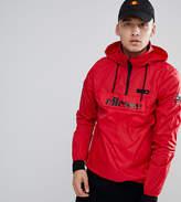 Ellesse Ion Overhead Jacket In Red
