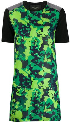 Mr & Mrs Italy camo T-shirt dress