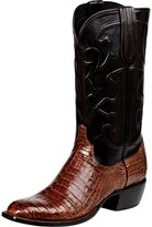 Lucchese Since 1883 Men's Charles 1 Toe Boot Crocodile Belly Size 9 D
