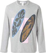 Comme des Garcons applique sweatshirt top