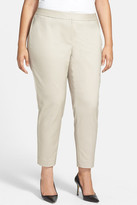 Sejour Scuba Ankle Pants (Plus Size)