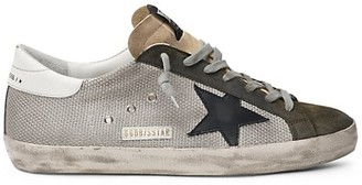 Golden Goose Superstar Net Low-Top Sneakers