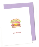 BRITTNEY BANKS Cheeseburger Thank You Card