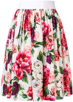 Dolce & Gabbana floral full skirt