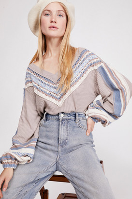 Free People Copenhagen Thermal Top