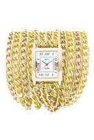 La Mer Gold Chain Watch