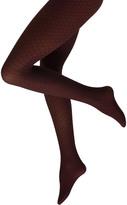 Cette Plus Size Como patterned 60 denier tights