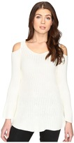 Catherine Malandrino Long Sleeve Cold Shoulder Sweater