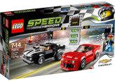 Lego Chevrolet camaro drag race set