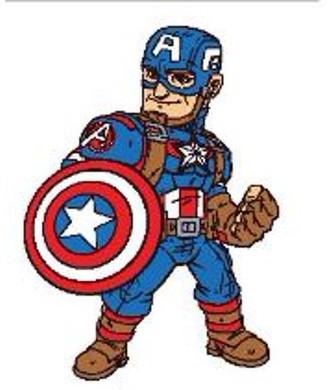 Marvel Super Hero Adventures Super Hero Adventures Captain America Pillow Buddy