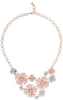 Ted Baker Roseia Enamel & Pave Crystal Necklace