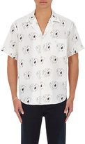 Enfants Riches Deprimes Men's Card-Print Bowling Shirt