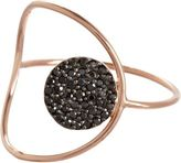 Black Diamond Alexandra Moosally Circle Ring