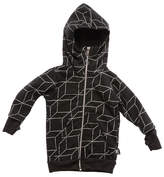 Nununu Zip Grid Gloved Hoody