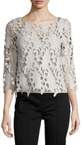 Tracy Reese Easy Lace Shell Blouse
