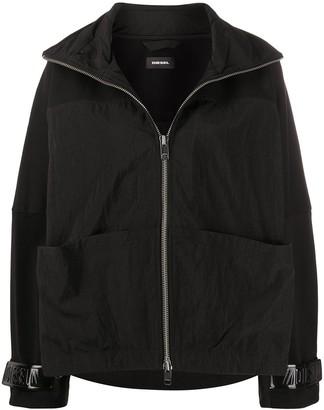 Diesel Zip-Front Boxy Jacket