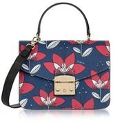 Furla Women's Blue Leather Handbag.