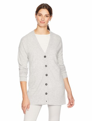 Lark & Ro Amazon Brand Women's Sweater Long Sleeve V-Neck Cardigan Cashmere Sweater
