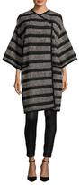 LK Bennett Sammy Tweed Striped Cardigan