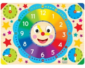 The Learning Journey Lift and Learn Clock Puzzle