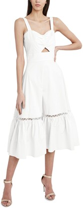 BCBGMAXAZRIA Women's Sleeveless Flare Maxi Dress
