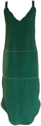 Onelady Colorful Midi Dress Green Drica