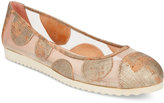 French Sole Retro Ballet Flats