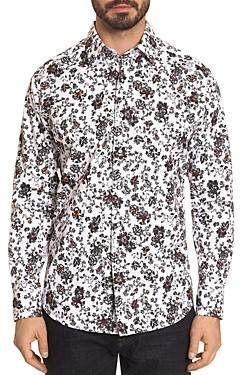 Robert Graham Grey Gardens Floral Classic Fit Button-Down Shirt