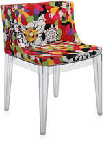 Kartell Mademoiselle 'a la mode' Transparent Chair - Vevey Red Tones