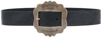 Isabel Marant Large Buckle Leather Belt
