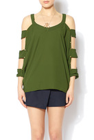Entro Studded Arms Top