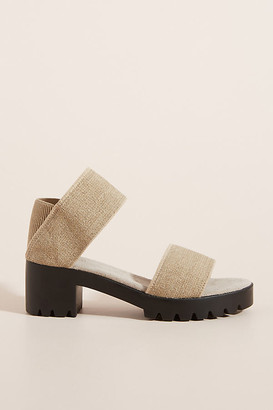 Brenda Block-Heeled Sandals By Charleston Shoe Co. in Black Size 6