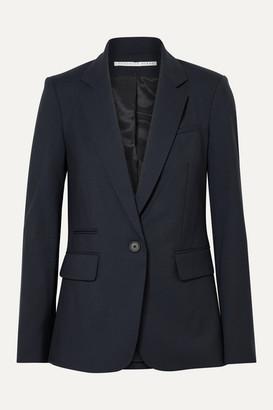 Veronica Beard Classic Stretch-wool Crepe Blazer - Midnight blue