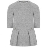 Chloé ChloeBaby Girls Grey Fleece Dress