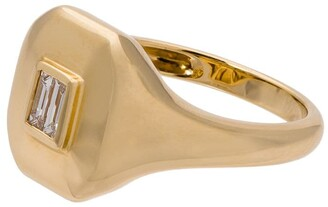 Shay Baguette Pinky diamond ring