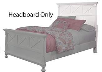 Signature Design by Ashley Ashley Furniture Signature Design - Kaslyn Panel Headboard - Full Size - Component Piece - Youth Casual - Country Cottage Style