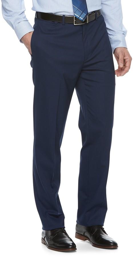 a07630a467932 Men's Flex Slim-Fit Stretch Suit Pants